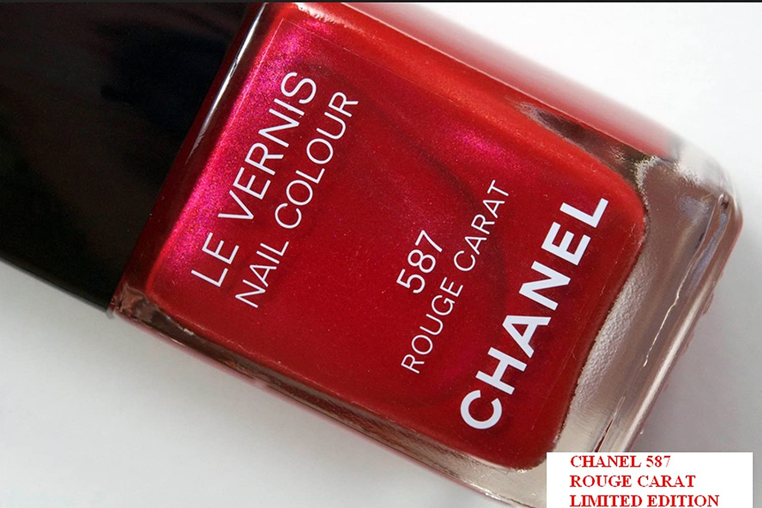 Amazon.com: Chanel Nail Polish Holiday 2011 Collection Rouge Carat ...