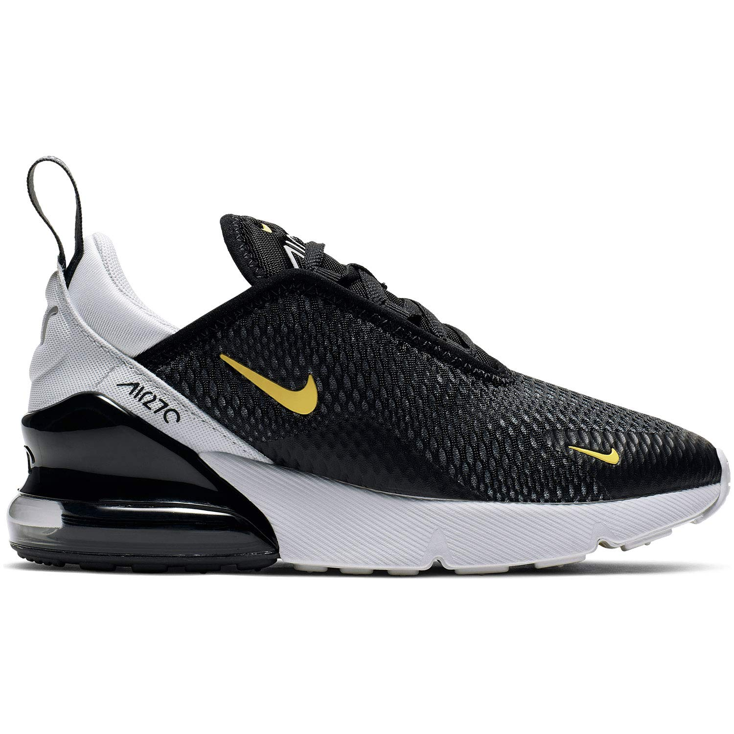 best selling get new 100% authentic Amazon.com | Nike Air Max 270 PS Kids Black/Pure Platinum ...