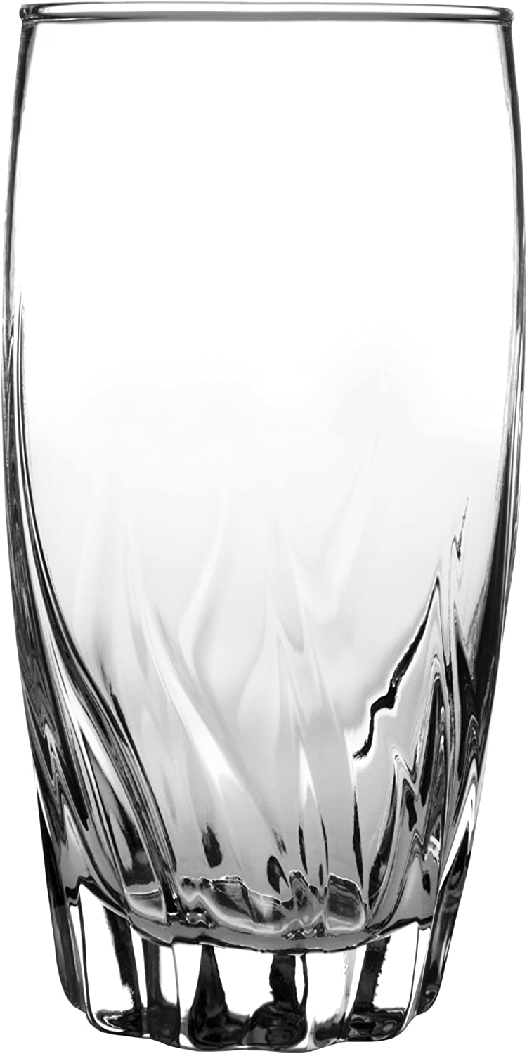 Anchor Hocking Central Park Drinking Glasses, 16 oz (Set of 4) -