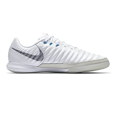 295f0349f14 Nike Men s Lunar LegendX 7 Pro IC Soccer Shoes (White Metallic Cool Grey)