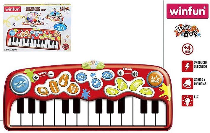 Hogar y Mas Piano Alfombra Gigante Infantil con Luces y
