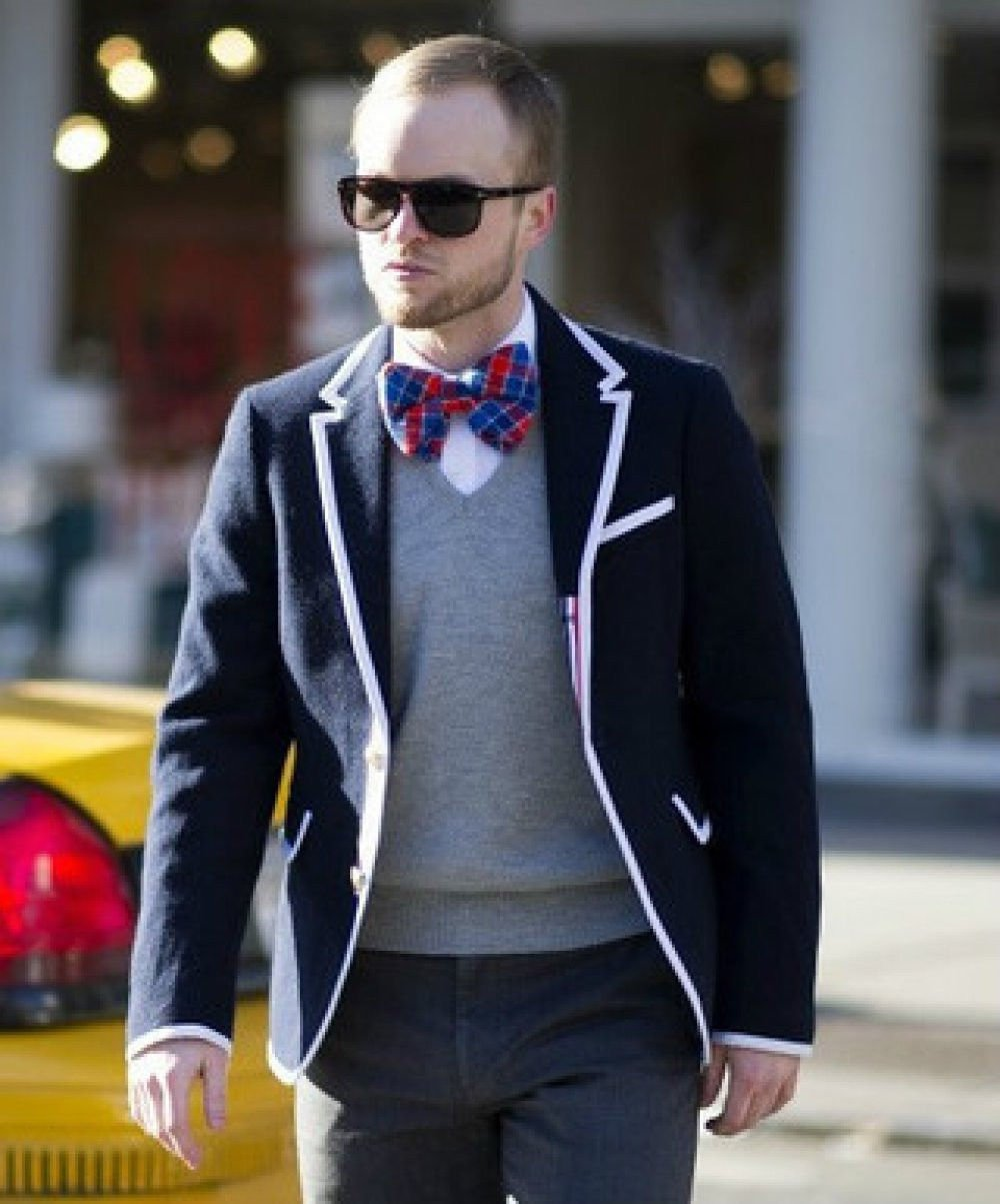 Thom Browne for Neiman Marcus + Target Navy Wool Blazer Size Medium by Thom Browne (Image #5)