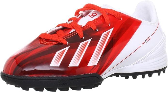 Adidas - F10 TRX J Messi - Color: Blanco-Rojo - Size: 37.3EU ...