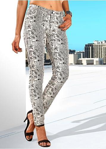 Mujer Pantalones, 60978en estampado