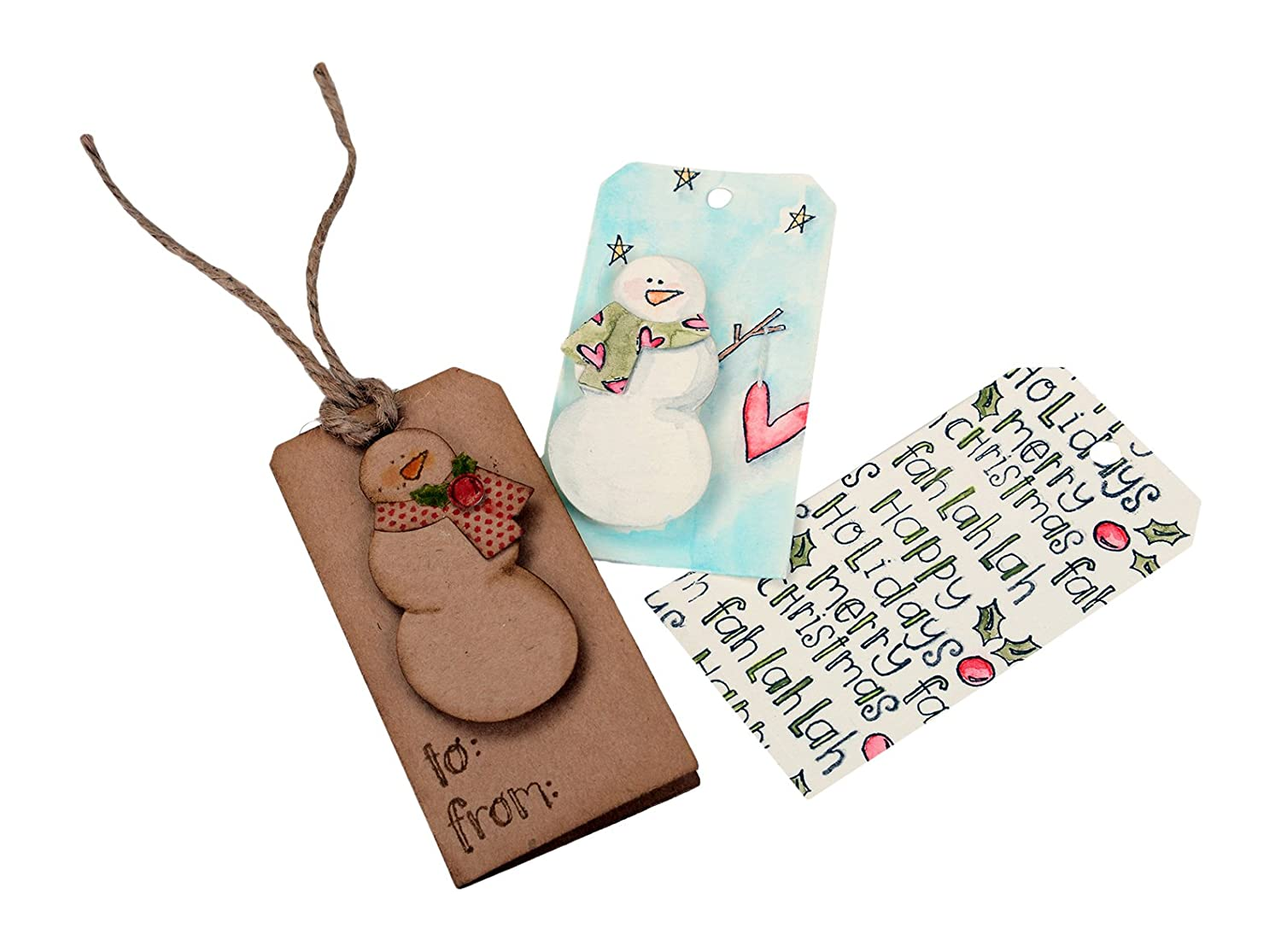 Christmas Tag Cutting Dies