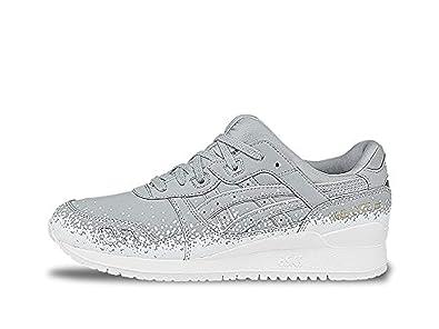 91bdae77 ASICS Gel-Lyte III H6W3Y.1313 Men Grey RED Shoes 10: Buy Online at ...