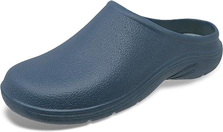 Material exterior: Sintético,Material de la suela: Sintético,Cierre: Sin cordones,Anchura del zapato