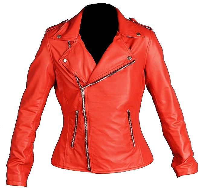 Amazon.com: The Jacket Makers River-Dale - Chaqueta de piel ...