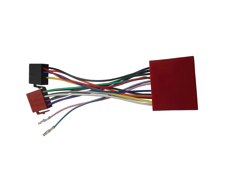 dkMuS for ISO配線ハーネスアダプターfor Mazda 2001 +ステレオワイヤケーブルアフターマーケットラジオプラグアダプタコネクタConnecter B079KGK4D3