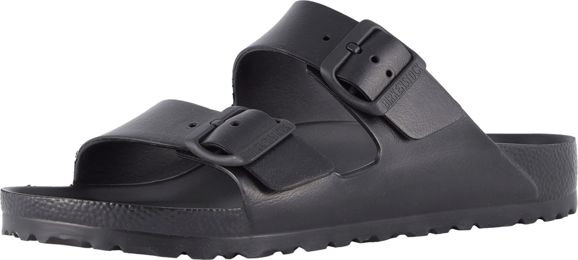 Birkenstock Unisex Arizona Essentials EVA Black Sandals - 38 N by Birkenstock