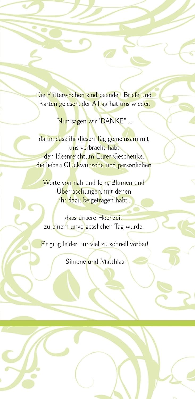 Kartenparadies Danksagung für Hochzeitsgeschenke Hochzeit Dankeskarte Blättertraum, hochwertige hochwertige hochwertige Danksagungskarte Hochzeitsglückwünsche inklusive Umschläge   10 Karten - (Format  105x215 mm) Farbe  RosaRosa B01NCXXB76 | Rabatt  |  d7f170
