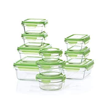 Charmant Snapware Glasslock Containers   18 CT