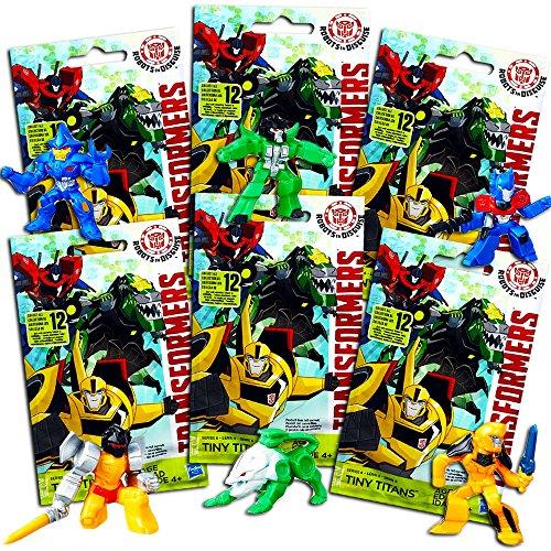 Transformers Tiny Titans Changers Series Set -- 6