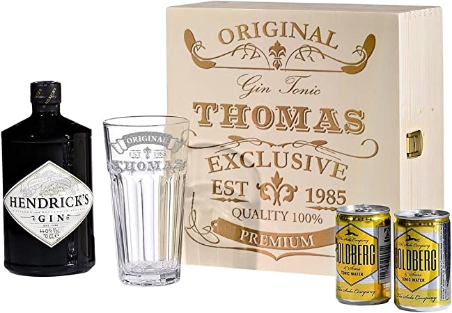 polar-effekt 5 pcs Gin Tonic – Estuche con Hendricks: Amazon.es: Hogar