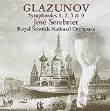 Glazunov Symphonies 1,2,3 & 9