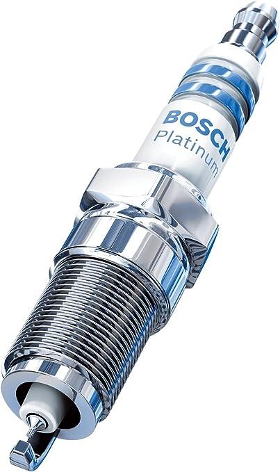 Set of 6 Bosch Platinum 4 4 Electrode Platinum Resistor Spark Plugs # 4448
