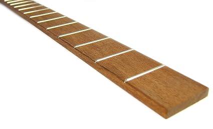 Cigar Box guitarra diapasón: totalmente fretted auténtica madera de caoba