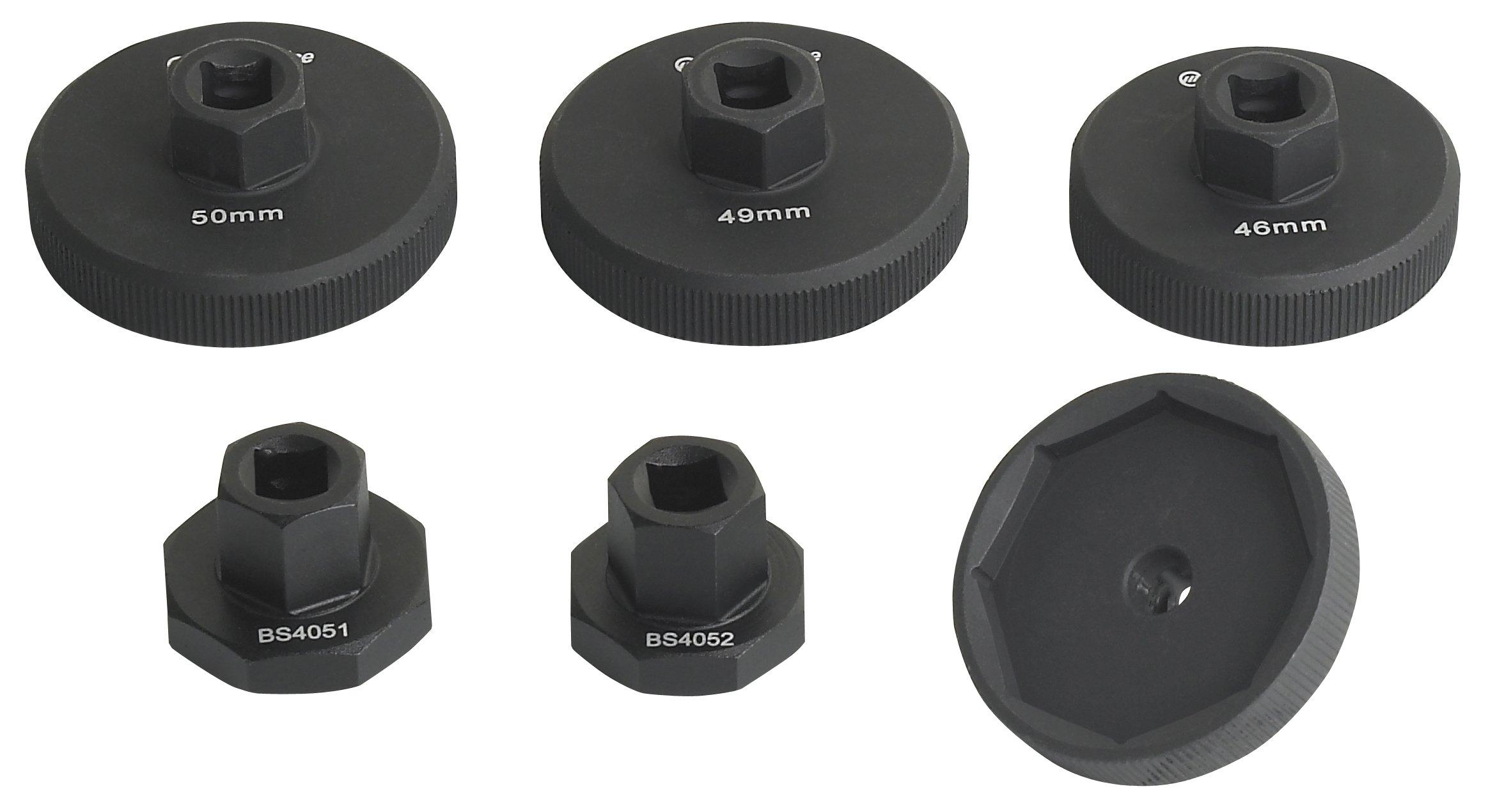 OTC Tools 4889 Fork Cap and Compression Valve Socket Set