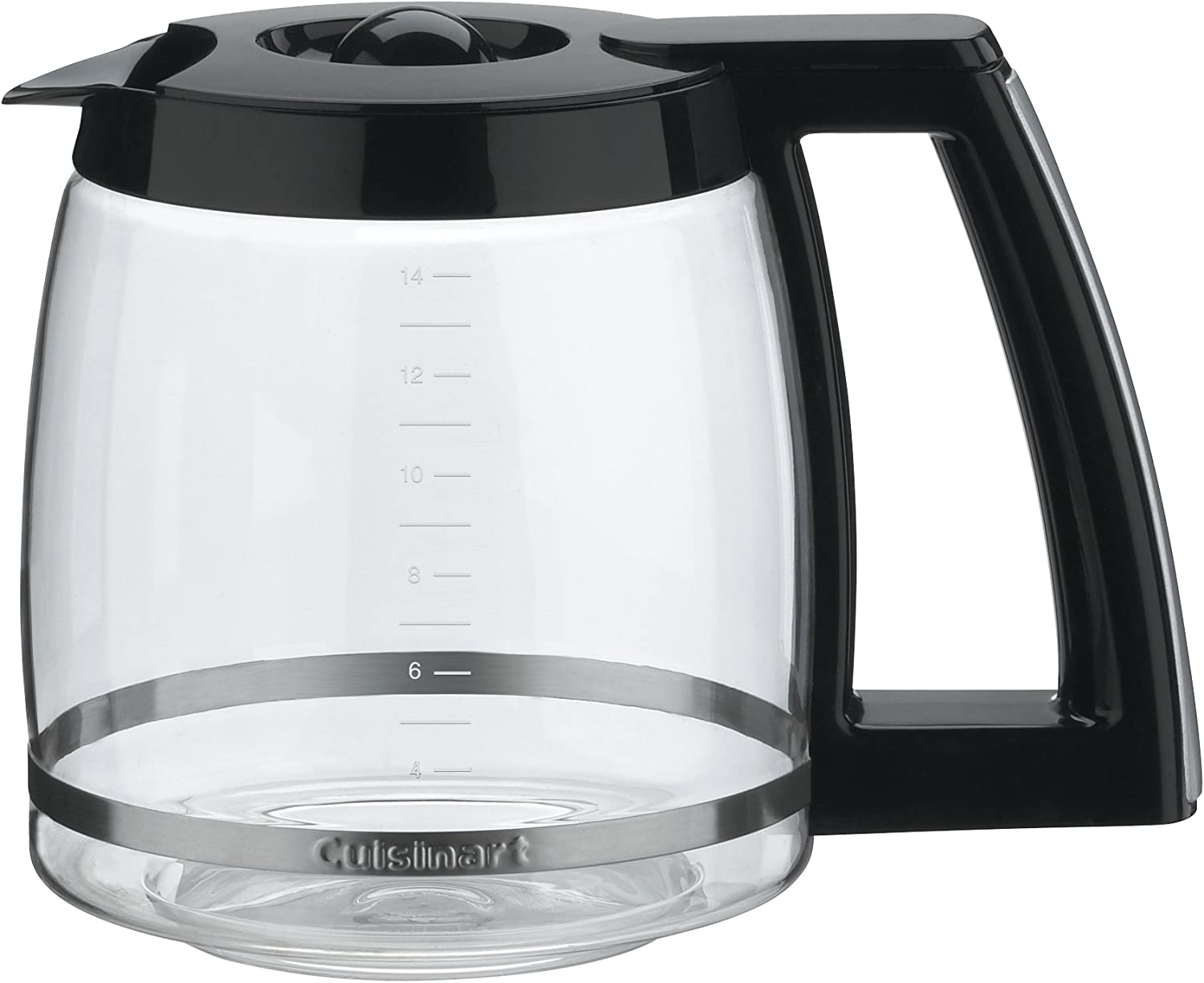Cuisinart DCC-2200RC 14-Cup Replacement Glass Carafe, Black 71LlBRhsBAL