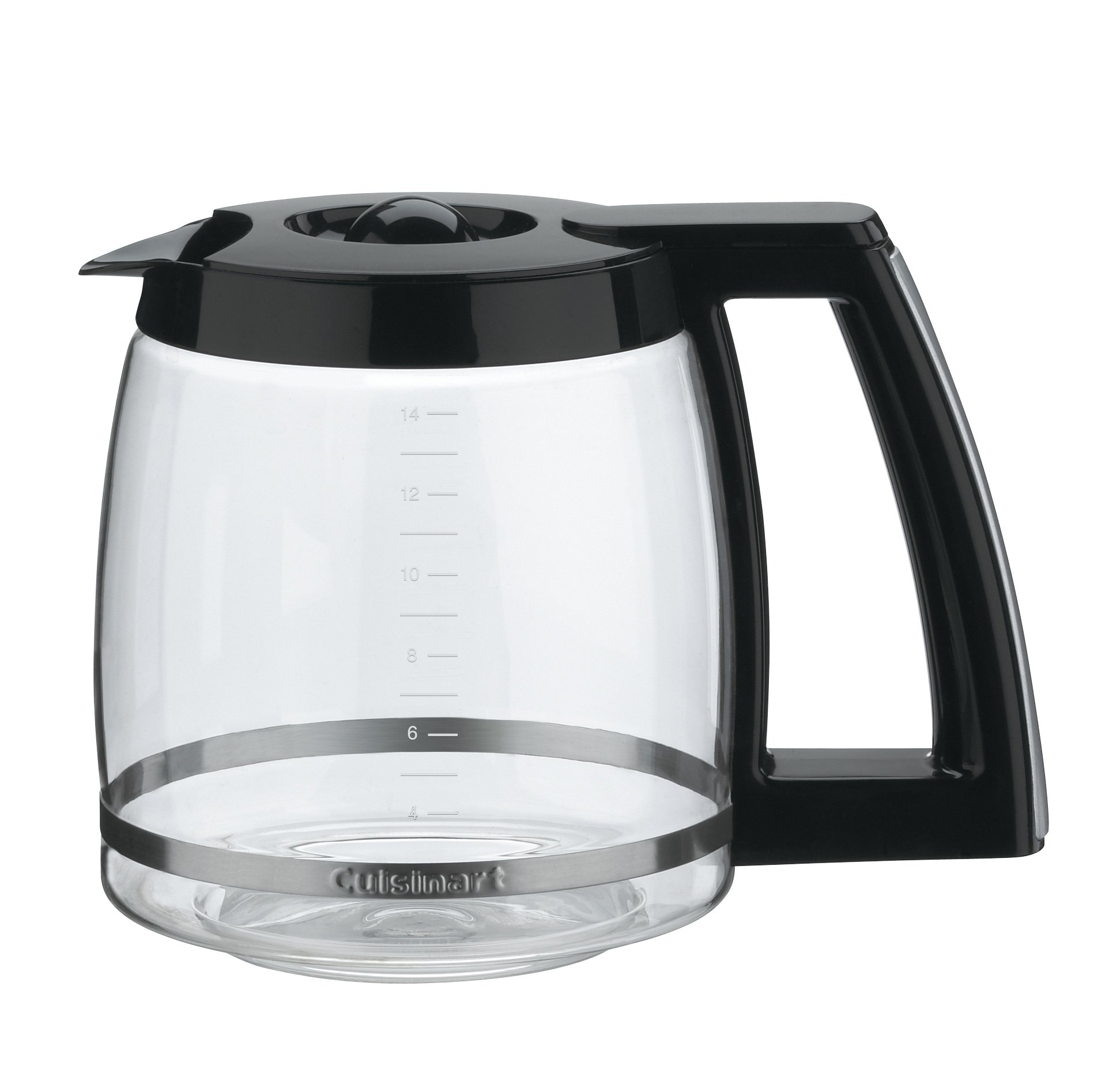 Cuisinart DCC-2200RC 14-Cup Replacement Glass Carafe, Black by Cuisinart (Image #1)