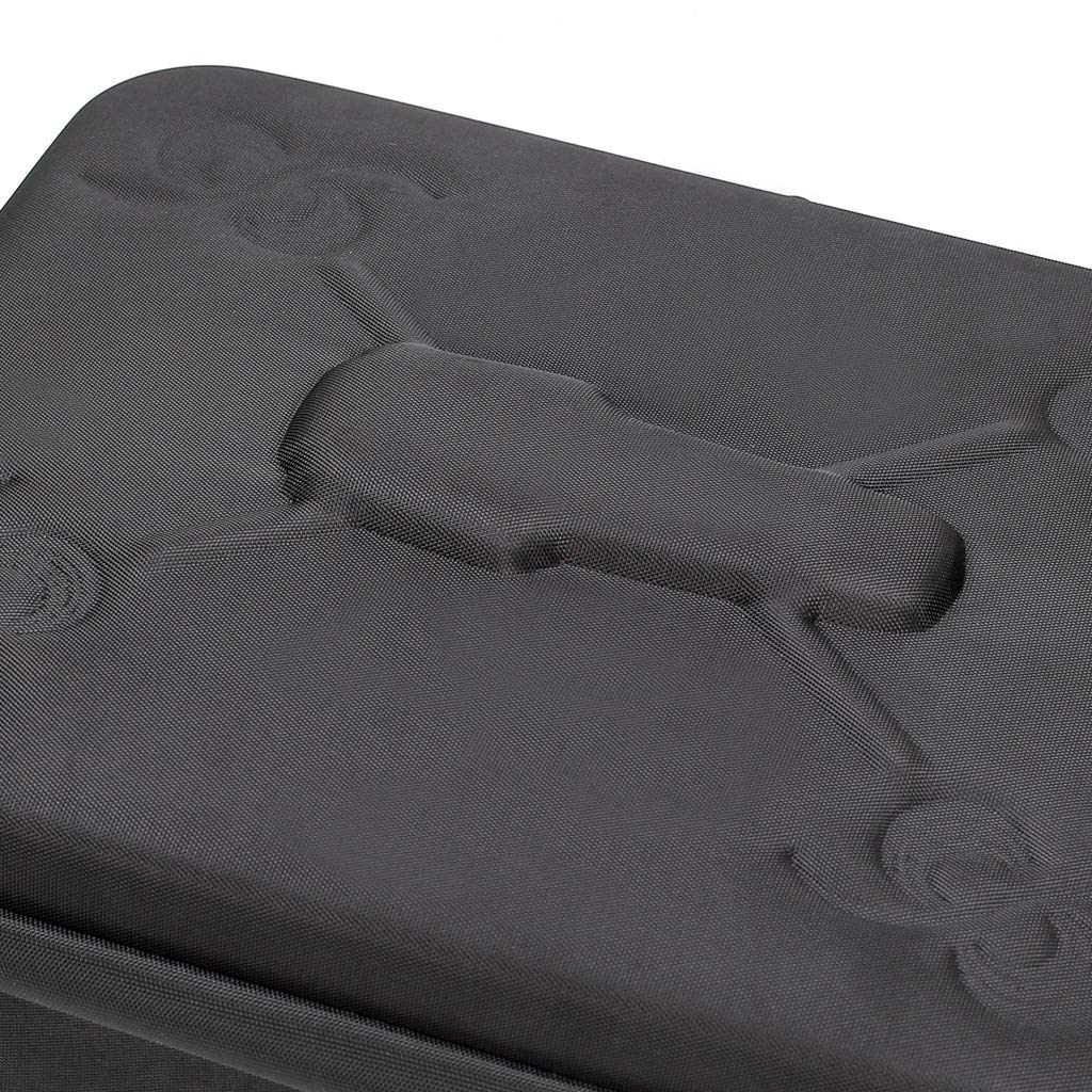 Tuu Waterproof Portable Storage Bag Carry Case for DJI Mavic 2 & Smart Controller (Black) by Tuu (Image #9)