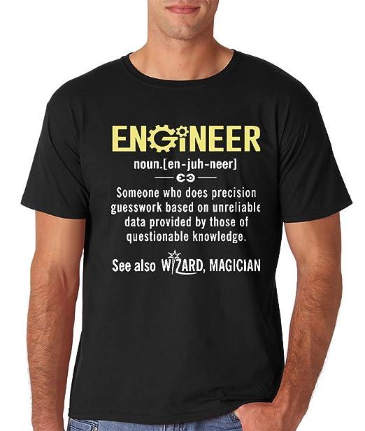 Amazon.com: AW Fashions Engineer - Camiseta divertida para ...