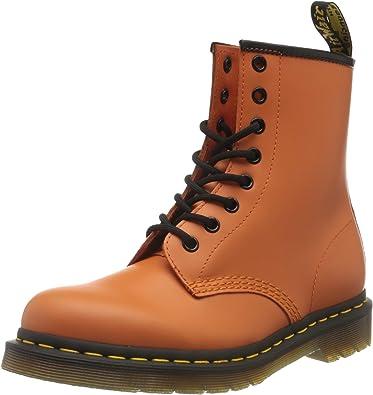 blanco Obligar crédito  Dr.Martens - 1460 Welt - Botas de mujer naranjas: Amazon.es: Zapatos y  complementos