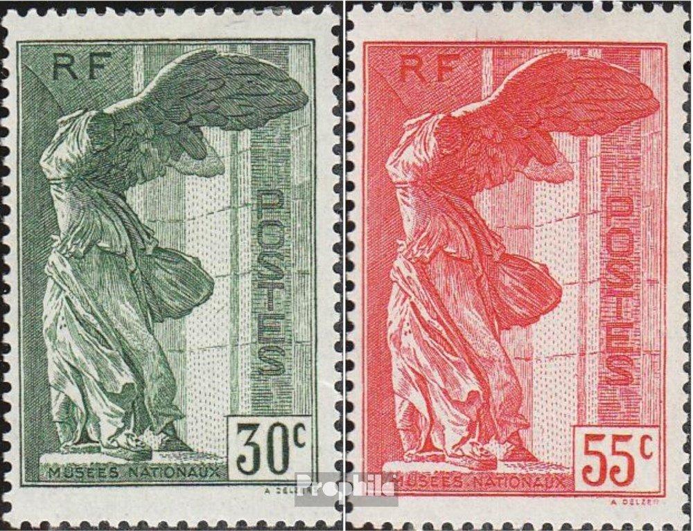 Prophila Collection Frankreich 359-360 (kompl.Ausg.) 1937 Nationalmuseum (Briefmarken für Sammler)