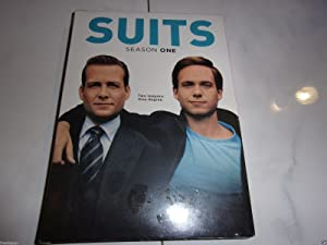New Suits complete season one show dvd set Smart entertaining classy tv shows