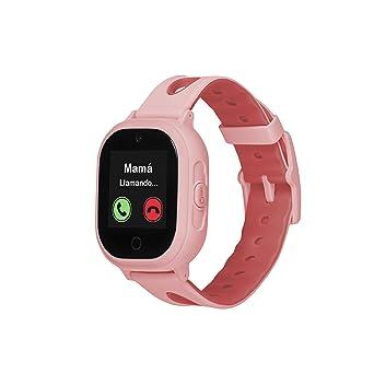 Smartwatch GPS para niños OkyWatch con localizador y teléfono, Resistencia al Agua, Cámara Selfie, SOS, Llamadas y Mensajes, Reloj GPS con Ranura para ...