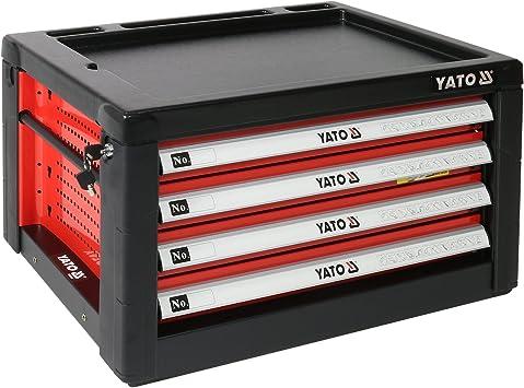 YATO YT-09152 - caja de herramientas 4 cajones: Amazon.es ...