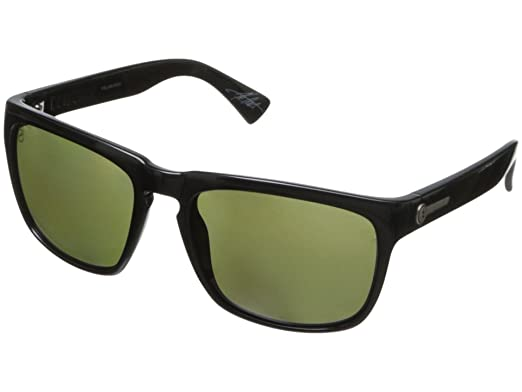 96dbc06af36 Image Unavailable. Image not available for. Color  Electric Knoxville  Sunglasses Gloss Black with M1 Grey Polarized Lens