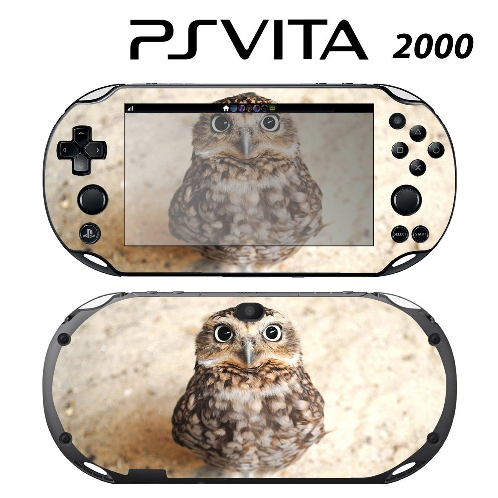 Decorative Video Game Skin Decal Cover Sticker for Sony PlayStation PS Vita Slim (PCH-2000) - Cute Baby Owl