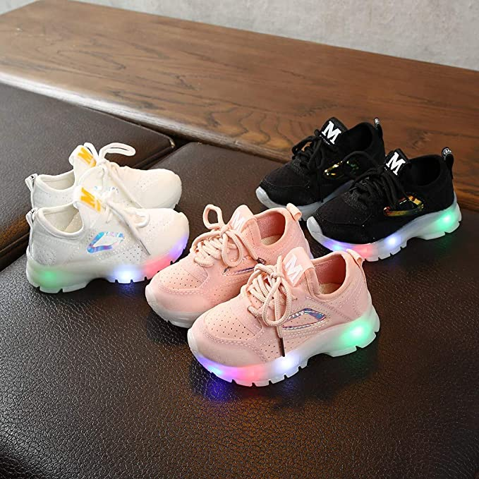 Zhaoguan Infant Sneakers Kids Mesh Sport Sneakers Casual Shoes Casual Shoes