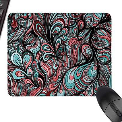 Amazon com : Artcomputer Mouse padAbsurd Shapes with Dim