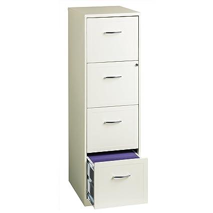 amazon com myeasyshopping 18 4 drawer metal file cabinet white rh amazon com 4 drawer metal filing cabinet price 4 drawer metal file cabinet legal size