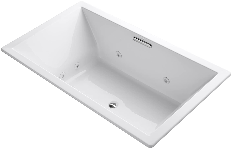 center pd with freestanding white sunstruck shop bathtub in kohler tub drain acrylic jacuzzi