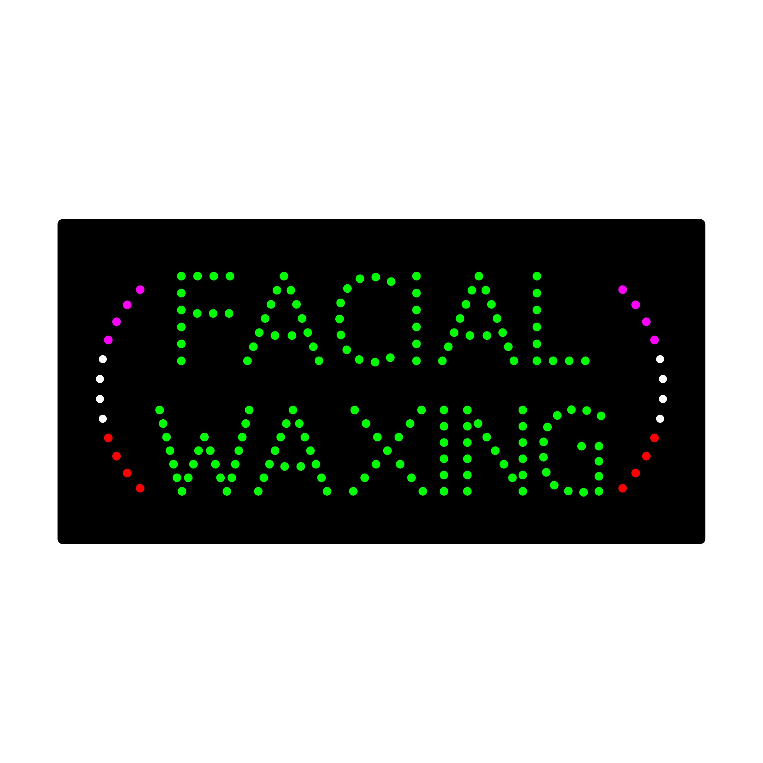 LED Facial Waxing Light Sign Super Bright Electric Advertising Display Board for Nails Spa Pedicure Message Business Shop Store Window Bedroom 24 x 12 inches