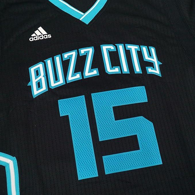 01fe981910d ... amazon kemba walker charlotte hornets adidas swingman black buzz city jersey  l jerseys amazon canada 753e9