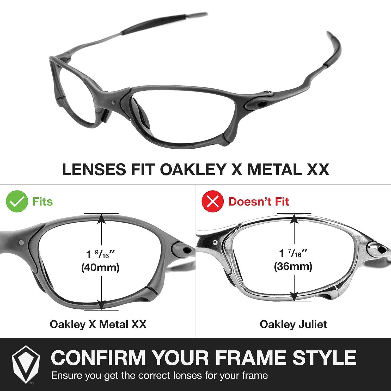 oakley x metal  Amazon.com: Revant Lenses for Oakley X-Metal XX Polarized 24K Gold ...