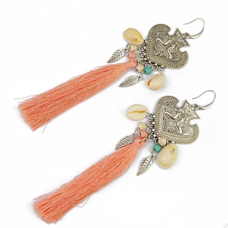 Generous Earrings Natural Peacock Earring Image 2