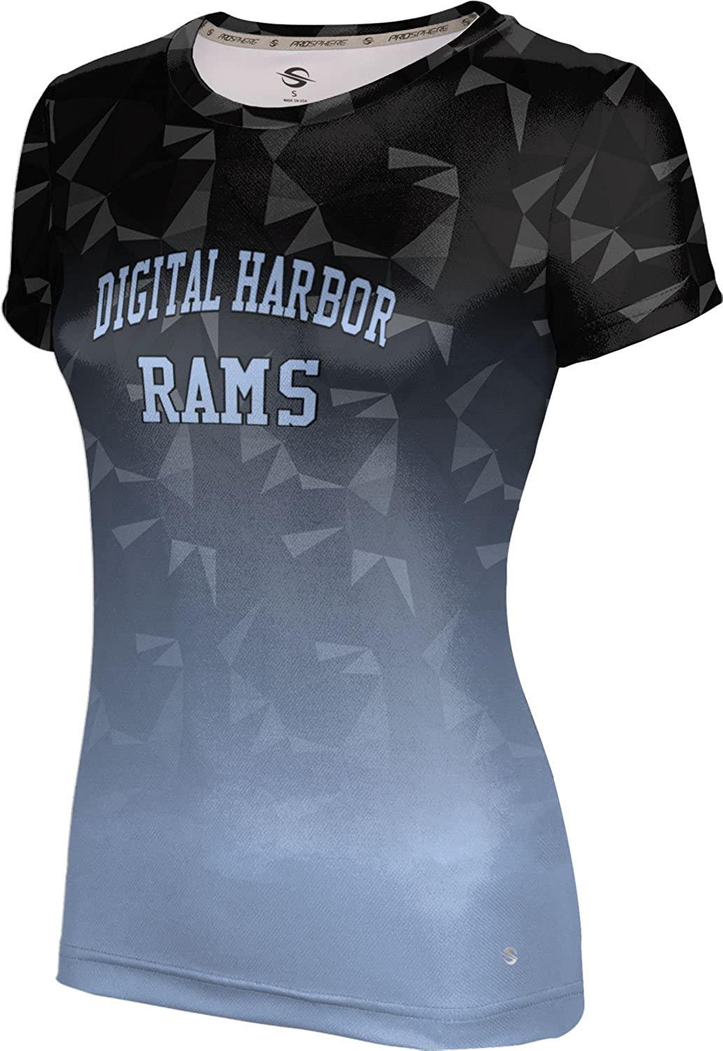 ProSphere Women's Digital Harbor High School Maya Tech Tee