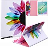Samsung Galaxy Tab S2 9.7 Case - Newshine PU Leather Stand Folio Case Cover with Card Slots, Note Holder for Samsung…