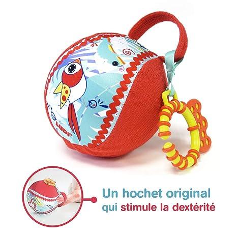 Ludi – Pelota sensorial en tejido que by La curiosité de bebé ...