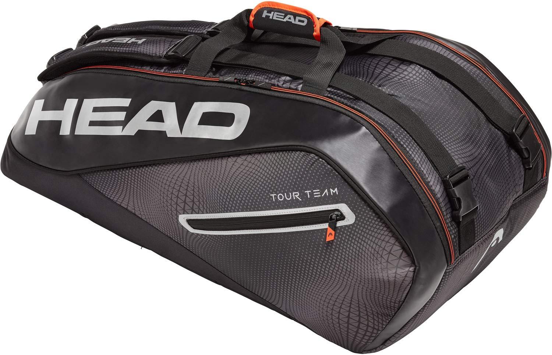 HEAD Tour Team Tennis Racket Bag (Multiple Sizes, 3 - 12 Racket Capacity)