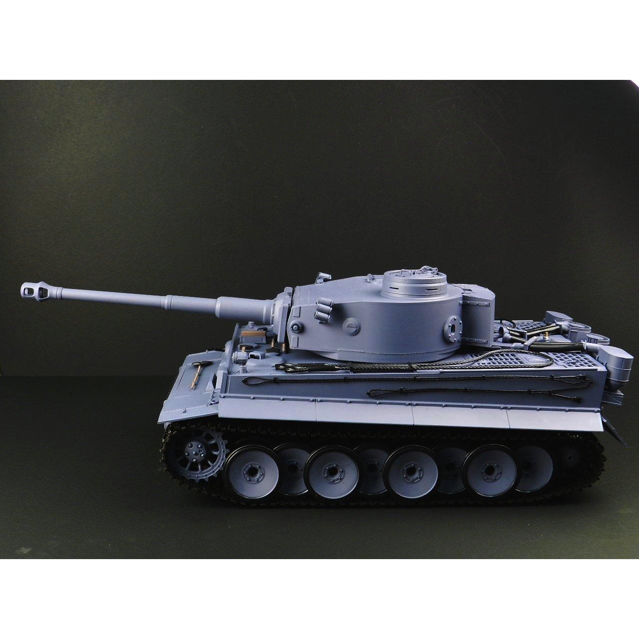 【BB弾発射サウンド発煙仕様】 HengLong 1/16 戦車ラジコン タイガーⅠ型 German Tiger I Tank B007CCESXY