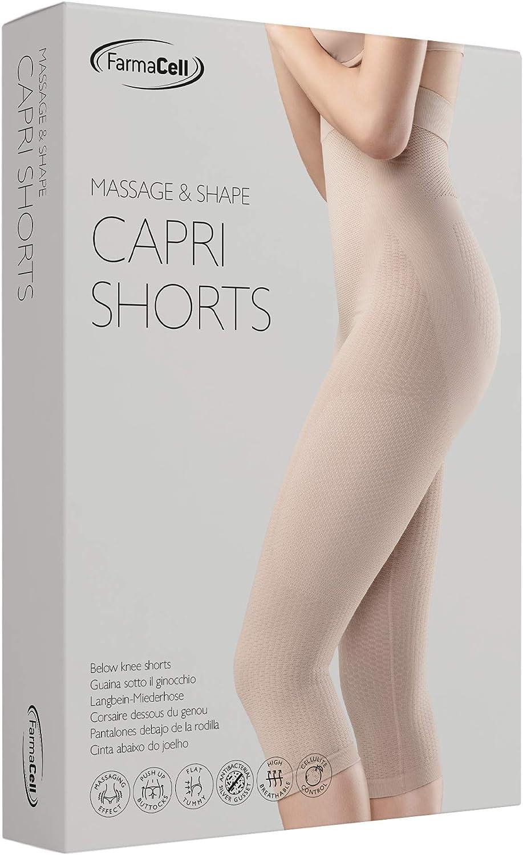 Farmacell 323 Massierende Figurformende Lange Hose mit Pushup und Anti Cellulite Effekt