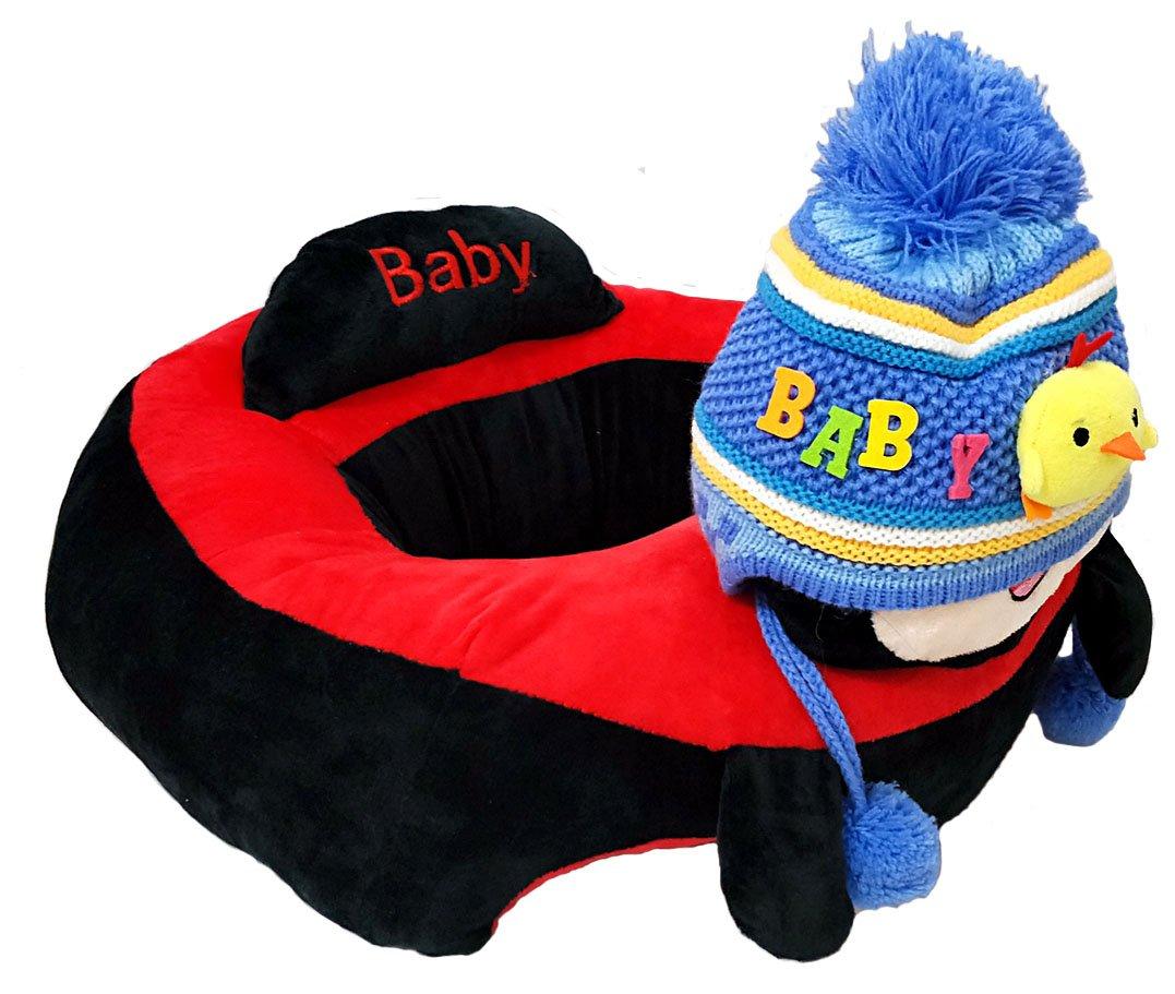 Amazon.com: Bebé sentado silla Mickey Saft sofá para bebé ...
