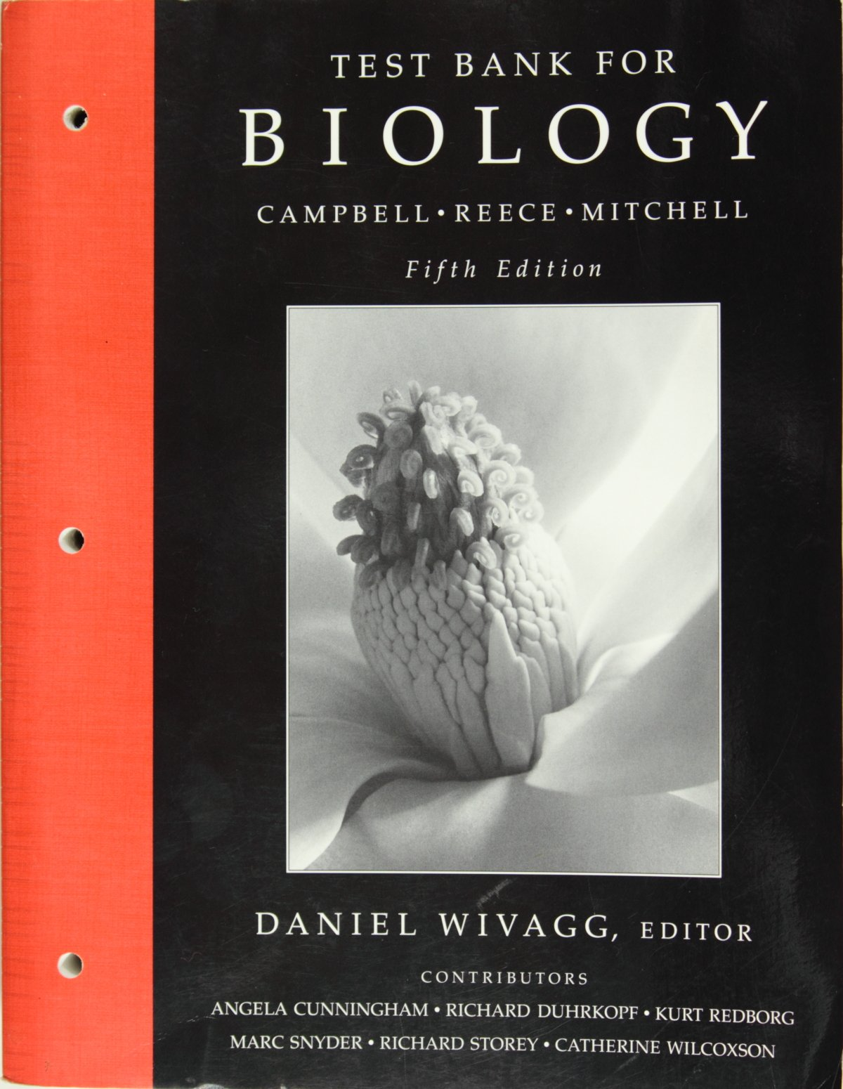 Test Bank for Biology, Campbell and Reece, 5th Edition: Campbell:  9780805365610: Amazon.com: Books