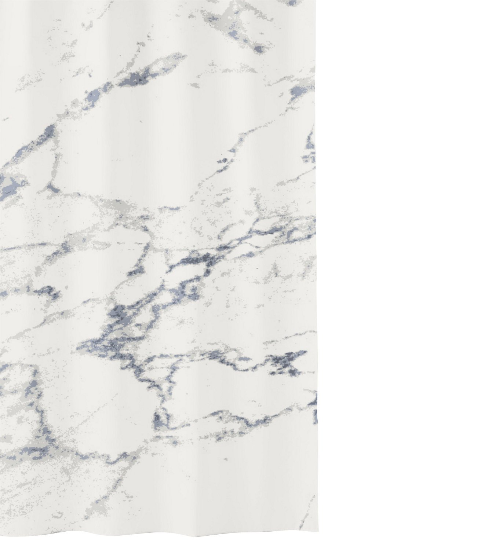 Kleine Wolke 5283901305/Marble Tenda da Doccia 180/x 200/x 0.2/cm Poliestere Antracite
